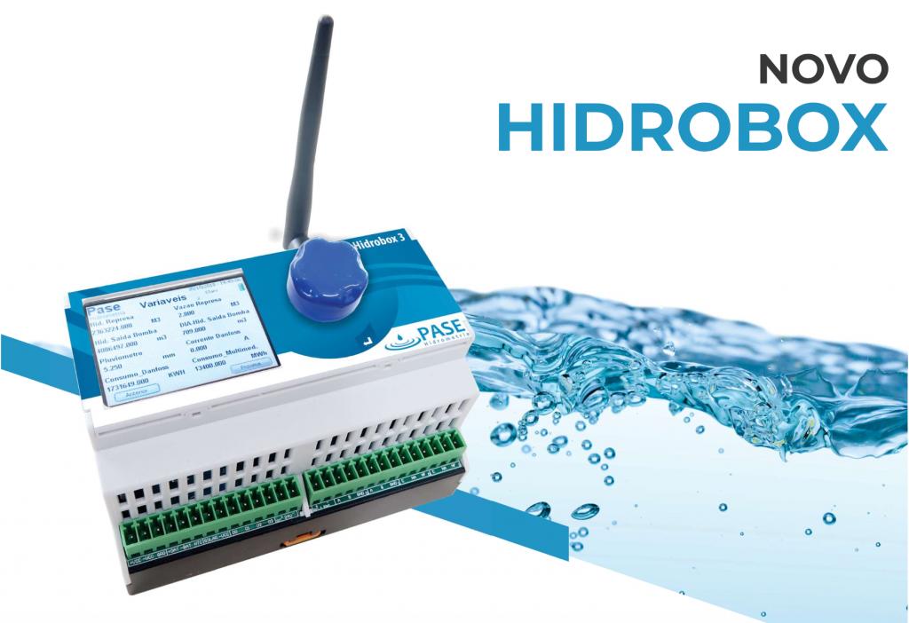 Hidrobox- telemetria e automação